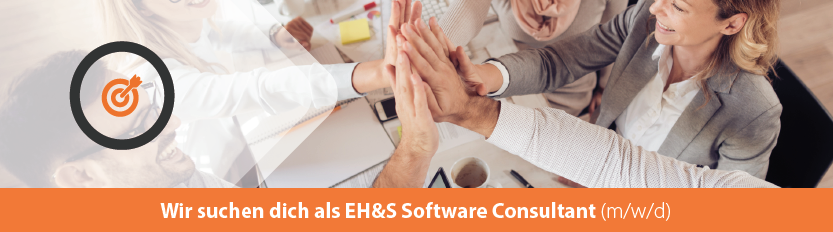 Stellenangebot EHS Software Consultant (m/w/d)