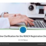 Aktualisierung der REACH-Registrierung