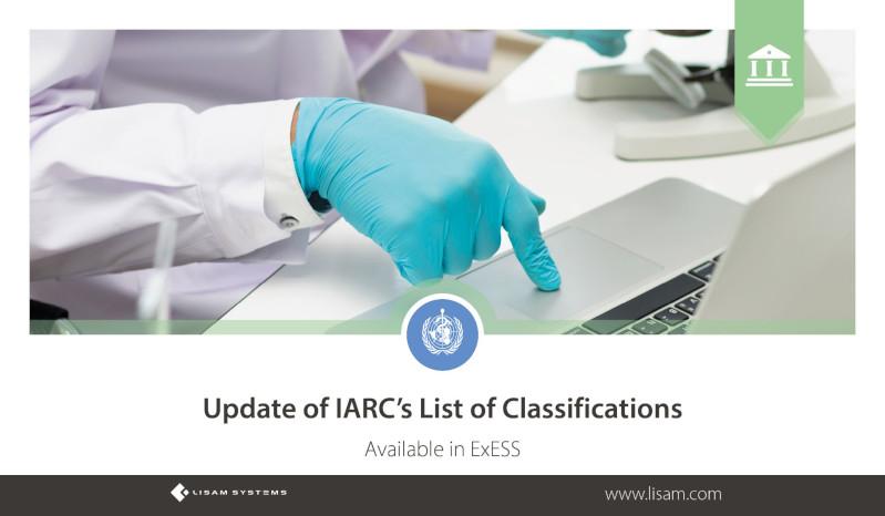 Update der IARC-Liste der Klassifizierungen